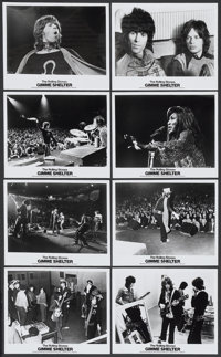 "Gimme Shelter (20th Century Fox, 1970). Publicity Stills (16) (8"" X 10""). Rock and Roll.... (Total: 16 Items)"