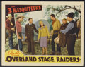 "Movie Posters:Western, Overland Stage Raiders (Republic, 1938). Lobby Card (11"" X 14""). Western...."