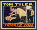 """Movie Posters:Western, Trigger Tom (Reliable, 1935). Lobby Card (11"""" X 14""""). Western...."""
