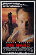 "Movie Posters:Action, Die Hard (20th Century Fox, 1988). One Sheet (27"" X 40"") SSAdvance. Action...."
