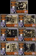 """Movie Posters:Western, Trail of the Silver Spurs (Monogram, 1941). Lobby Cards (7) (11"""" X 14""""). Western.... (Total: 7 Items)"""