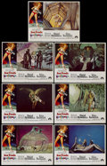"Movie Posters:Science Fiction, Barbarella (Paramount, 1968). Lobby Cards (7) (11"" X 14""). ScienceFiction.... (Total: 7 Items)"