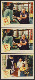 """Movie Posters:Comedy, Blithe Spirit (United Artists, 1945). Lobby Cards (3) (11"""" X 14"""").Comedy.... (Total: 3 Items)"""