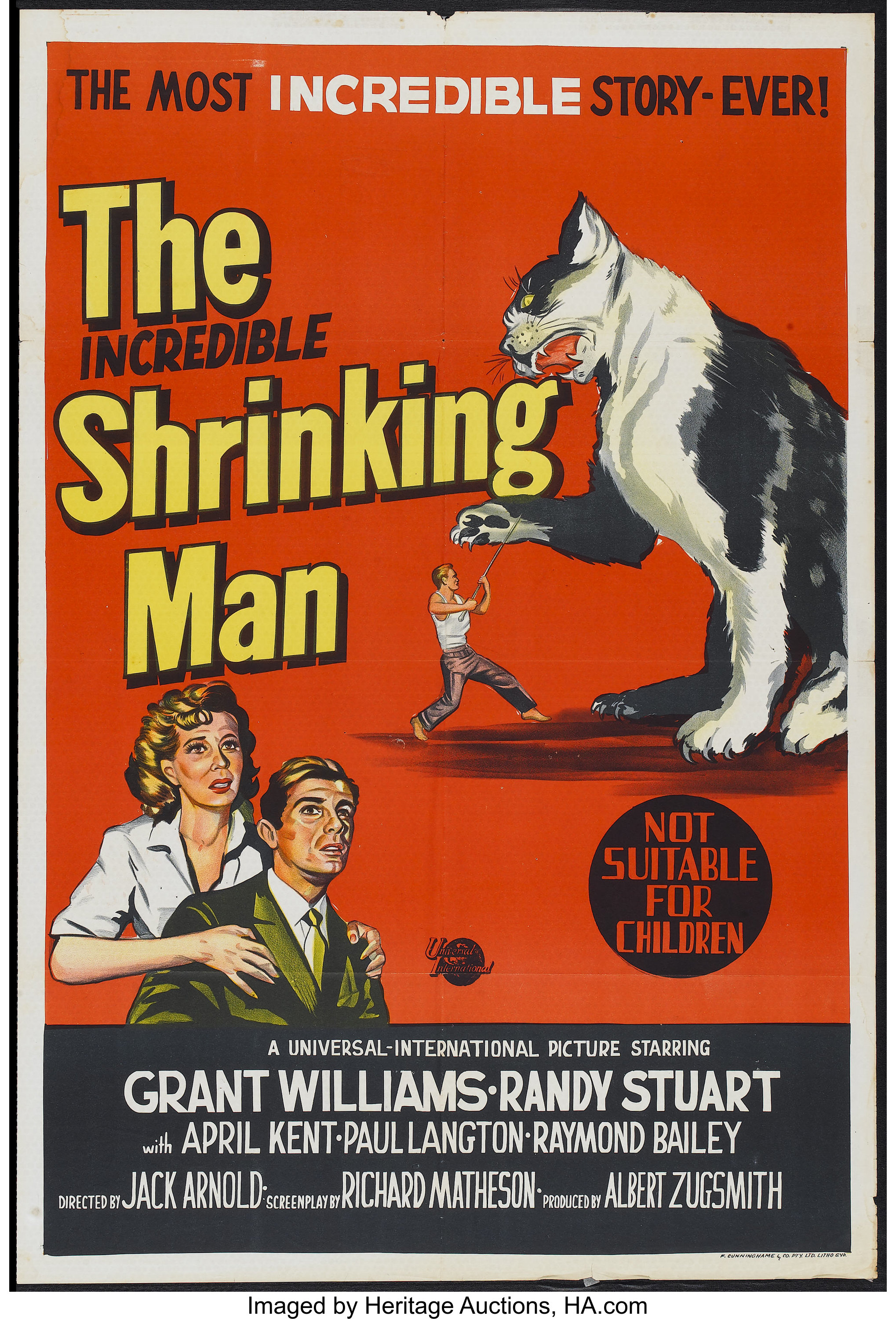 Movie poster.  Cats are terrifying.  NOT SUITABLE FOR CHILDREN.