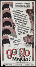 "Movie Posters:Rock and Roll, Go Go Mania (American International, 1965). Three Sheet (41"" X81""). Rock and Roll...."