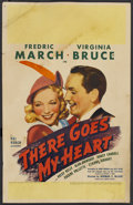"Movie Posters:Comedy, There Goes My Heart (United Artists, 1938). Window Card (14"" X 22""). Comedy...."
