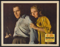 "Movie Posters:Adventure, Barricade (20th Century Fox, 1939). Lobby Card (11"" X 14"").Adventure...."