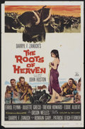 """Movie Posters:Adventure, The Roots of Heaven (20th Century Fox, 1958). One Sheet (27"""" X41""""). Adventure...."""