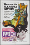 "Movie Posters:Cult Classic, Psych-Out (American International, 1968). One Sheet (27"" X 41"").Cult Classic...."