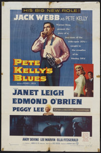 """Pete Kelly's Blues (Warner Brothers, 1955). One Sheet (27"""" X 41""""). Crime"""