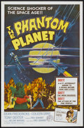"Movie Posters:Science Fiction, The Phantom Planet (Four Crown, 1962). One Sheet (27"" X 41"").Science Fiction...."