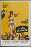 "Movie Posters:Comedy, Made in Paris (MGM, 1966). One Sheet (27"" X 41""). Comedy...."