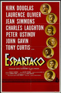 "Movie Posters:Adventure, Spartacus (Universal International, 1960). Spanish One Sheet (27"" X41.5""). Adventure...."
