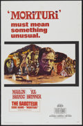 "Movie Posters:War, Morituri (20th Century Fox, 1965). One Sheet (27"" X 41""). War...."