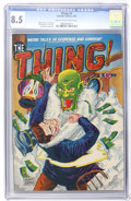 Golden Age (1938-1955):Horror, The Thing! #3 (Charlton, 1952) CGC VF+ 8.5 Cream to off-whitepages....