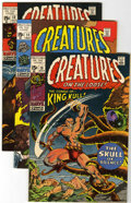 Bronze Age (1970-1979):Horror, Creatures on the Loose #10-37 Group (Marvel, 1971-75) Condition:Average VF-.... (Total: 29 Comic Books)