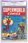 Golden Age (1938-1955):Science Fiction, Superworld Comics #1 (Hugo Gernsback, 1940) CGC Apparent GD 2.0Slight (A) Off-white pages....