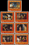 "Movie Posters:Adventure, Soldier of Fortune (20th Century Fox, 1955). Lobby Cards (7) (11"" X14""). Adventure.... (Total: 7 Items)"