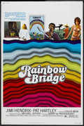 "Movie Posters:Rock and Roll, Rainbow Bridge (Transvue, 1972). Poster (40"" X 60""). Rock and RollDocumentary...."