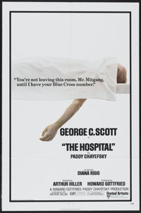 "The Hospital (United Artists, 1971). One Sheets (2) (27"" X 41"") Styles A and B. Comedy.... (Total: 2 Items)"