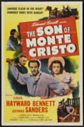 "Movie Posters:Adventure, The Son of Monte Cristo (Eagle Lion, R-1948). One Sheet (27"" X41""). Adventure...."