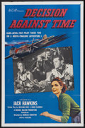 "Movie Posters:Drama, Decision Against Time (MGM, 1957). One Sheet (27"" X 41""). Drama...."