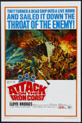 "Movie Posters:War, Attack on the Iron Coast (United Artists, 1968). One Sheet (27"" X41""). War...."