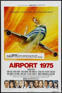"Airport 1975 (Universal, 1974). One Sheet (27"" X 41""). Action"