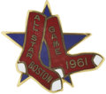 Baseball Collectibles:Others, 1961 All-Star Game Press Pin (Boston)....