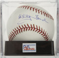 Autographs:Baseballs, Whitey Ford Single Signed Baseball Mint PSA 9. ...