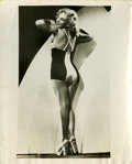 Movie/TV Memorabilia:Photos, Marilyn Monroe Vintage Bathing Suit Photo (c. 1950s)....