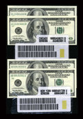 Small Size:Group Lots, $100 Label Sets. Choice Crisp Uncirculated or Better.. ... (Total: 36 notes)