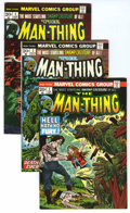 Bronze Age (1970-1979):Horror, Man-Thing Group (Marvel, 1974-75) Condition: Average VF/NM....(Total: 37 Comic Books)