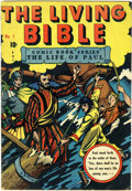 Golden Age (1938-1955):Religious, Living Bible #1 (Living Bible Corp., 1945) Condition: VG/FN....