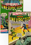 Silver Age (1956-1969):Horror, Tales of the Unexpected #5 and 10 Group (DC, 1956-57).... (Total: 2Comic Books)