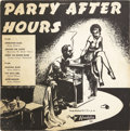 """Music Memorabilia:Recordings, Party After Hours 10"""" Red Vinyl LP (Aladdin 703, 1955)...."""
