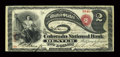 National Bank Notes:Colorado, Denver, CO - $2 Original Fr. 387 The Colorado NB Ch. # 1651. ...