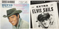 Music Memorabilia:Recordings, Elvis Presley EP Group of 2 (RCA, 1958-61)....