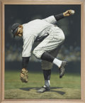 Baseball Collectibles:Others, Circa 2000 Carl Mays Original Artwork by Arthur Miller....