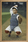 Baseball Collectibles:Others, Circa 2000 Mickey Cochrane Original Artwork by Arthur Miller....
