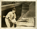 Autographs:Photos, Circa 1938 Lou Gehrig Signed Photograph....