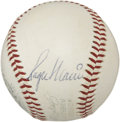 Autographs:Baseballs, 1970's Roger Maris Single Signed Baseball....