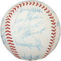 Autographs:Baseballs, 1967 Pittsburgh Pirates Team Signed Baseball....