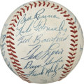 Autographs:Baseballs, 1958 Boston Red Sox Team Signed Baseball....