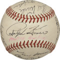 Autographs:Baseballs, 1949 Pittsburgh Pirates Team Signed Baseball....