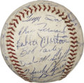 Autographs:Baseballs, 1962 Detroit Tigers Team Signed Baseball....