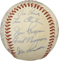 Autographs:Baseballs, 1965 California Angels Team Signed Baseball....