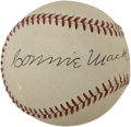 Autographs:Baseballs, Circa 1950 Connie Mack Signed Baseball....