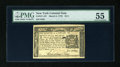 Colonial Notes:New York, New York March 5, 1776 $1/4 PMG About Uncirculated 55....