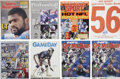 Football Collectibles:Others, Lawrence Taylor Signed Publications Lot of 8.... (Total: 8 items)